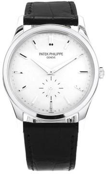 Patek Philippe Calatrava 5196G-001 18K White Gold 37mm Mens Watch
