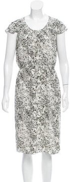 Behnaz Sarafpour Silk Printed Dress w/ Tags