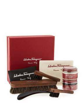 Salvatore Ferragamo Men's Leather Shoe Cleaning Kit