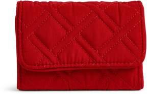 Vera Bradley RFID Riley Compact Wallet - VERA VERA CARDINAL RED - STYLE