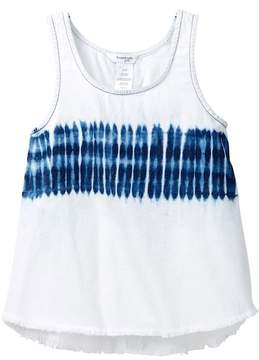 Bebe Bleached Denim Tank (Big Girls)
