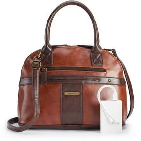 Co Stone & Plugged-In Vintage Domed Satchel