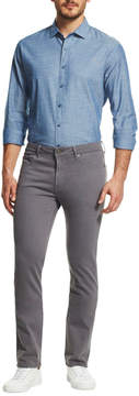 DL1961 Premium Denim Slim Skinny Chino Pants, Gray