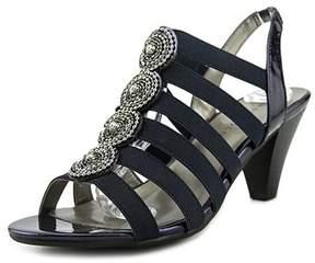 Karen Scott Nikhita Women Open Toe Canvas Blue Sandals.