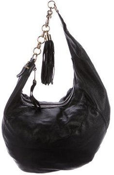 Gucci Medium Sienna Hobo - BLACK - STYLE