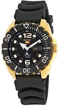 Seiko Series 5 Automatic Black Dial Men's Watch