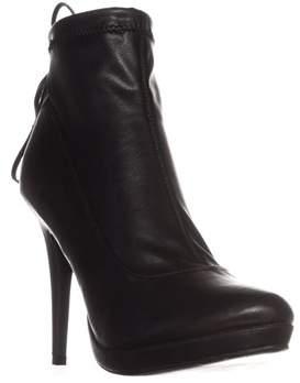Thalia Sodi Ts35 Brunna Platform Ankle Boots, Black.