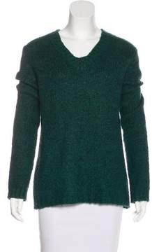 BLK DNM V-Neck Knit Sweater