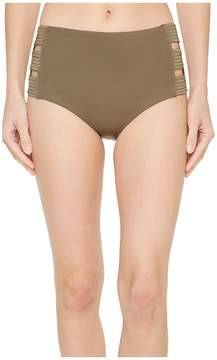 Seafolly High-Waisted Quilted Pant Women's Swimwear