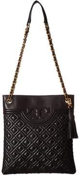 Tory Burch Fleming Swingpack Clutch Handbags - BLACK - STYLE
