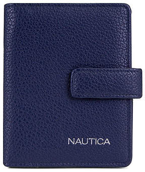 Nautica Plain Sailing Passport Case - Indigo