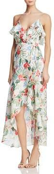 Bardot Ruffled Tropical Faux-Wrap Dress - 100% Exclusive