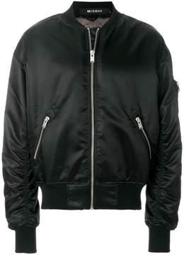 Misbhv Euphoria print bomber jacket