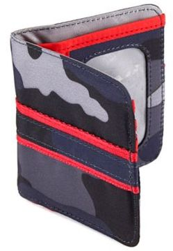 Lug® Tailback Pocket Wallet in Camo Blue