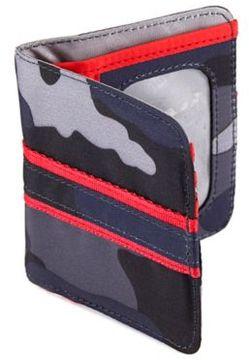 Lug® Tailback Pocket Wallet in Camo Blue