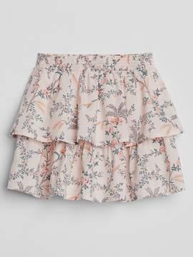Gap Layered Ruffle Skirt