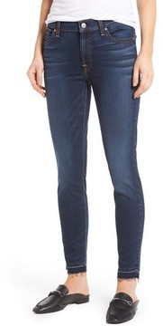 7 For All Mankind Women's B(Air) Released Hem Ankle Skinny Jeans