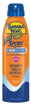 Banana Boat Sport Performance Coolzone Sunscreen Spray - SPF 50 - 6oz