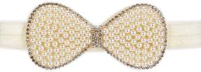 Starting Out Baby Girls Pearl Bow Headband