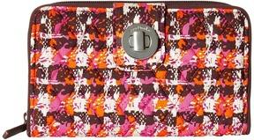 Vera Bradley Rfid Turnlock Wallet Wallet Handbags - AUTUMN LEAVES - STYLE