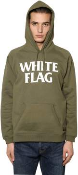Carhartt Hooded White Flag Printed Sweatshirt
