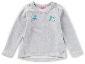 Joules Little Girls 3-6 Laurie Embroidered Sweatshirt