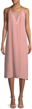 C/Meo COLLECTIVE Women's Mesh Panel Slip Dress