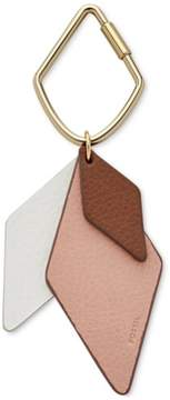 Fossil Womens Bag Charm Key Chain Multicoloured