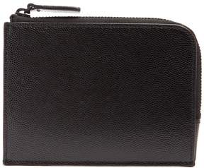 Common Projects Zip-around pebbled-leather wallet