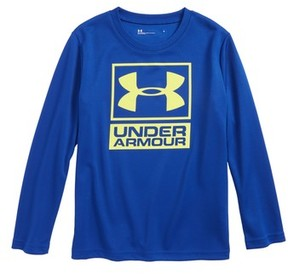 Under Armour Boy's Logo Waffle Shirt