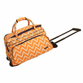 Asstd National Brand Jenni Chan Madison Soft Carry All Wheeled Duffel