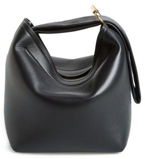 Victoria Beckham Tissue Pouch Leather Bag - Black