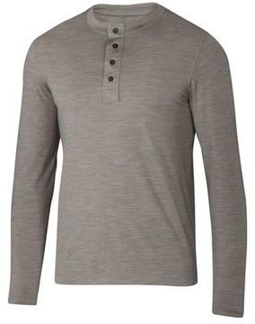 Ibex Men's Odyssey Henley Long Sleeve Shirt
