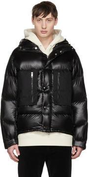 Burberry Black Down Cortney Puffer Jacket