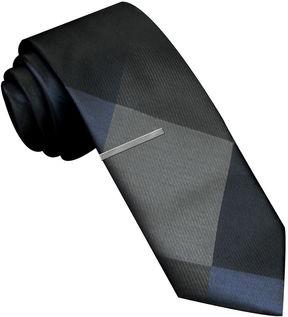Jf J.Ferrar JF Pieced Panel Skinny Tie