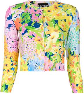 Moschino floral cardigan