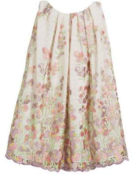 Helena Embroidered Sweet Pea Lace Dress, Size 12-18 Months