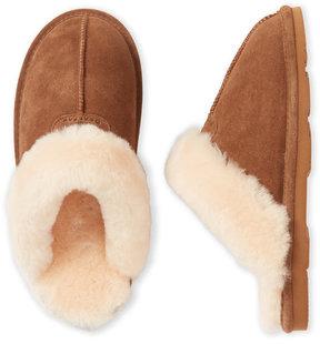 BearPaw Hickory Real Sheepskin Fur Slippers