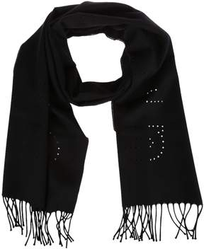 Givenchy Perforated Detail Scarf