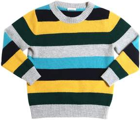 Il Gufo Striped Knit Merinos Wool Sweater