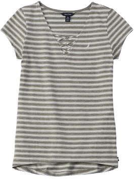 Nautica Girls' Striped T-Shirt