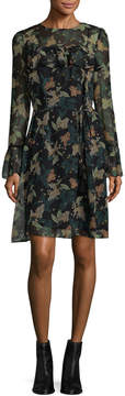 Donna Morgan Women's Hunter Printed Dress