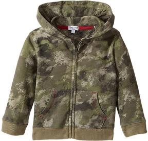 Splendid Littles Camo Hoodie Zip-Up Jacket (Infant)