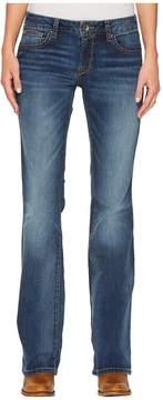 Ariat Ultra Stretch Demi Bootcut Jeans in Iced Indigo Women's Jeans