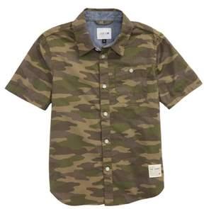 Joe's Jeans Aiden Camo Print Shirt