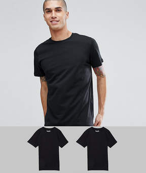 Jack and Jones Originals 2 Pack T-Shirt SAVE