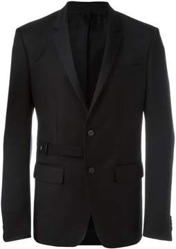 Givenchy belt detail blazer