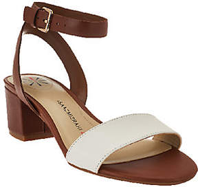 Isaac Mizrahi Live! Ankle Strap Sandals withHeel