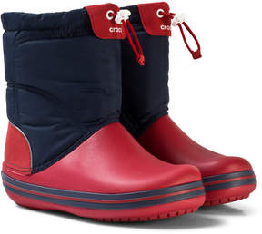 Crocs Red and Navy Crocband LodgePoint Boots