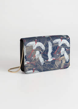 And other stories Crane Jacquard Minibag